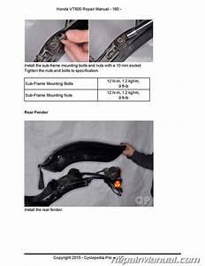 Honda Vt600 Shadow Cyclepedia Printed Motorcycle Service Manual