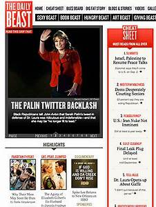 The Daily Beast - 50 Best Websites 2010 - TIME