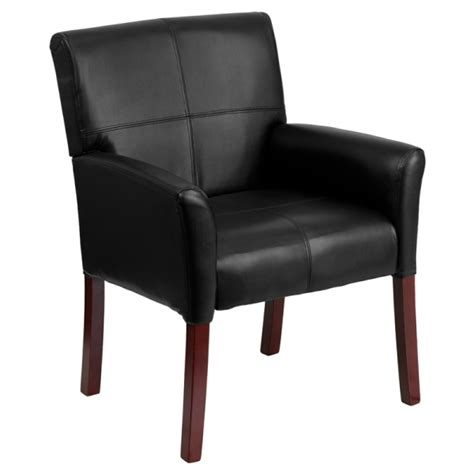 square back leather dining chair tablebasedepot