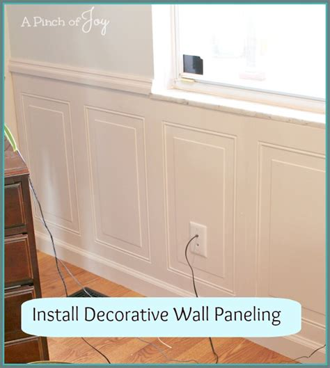 How To Hang Wainscoting Panels by Home Diy