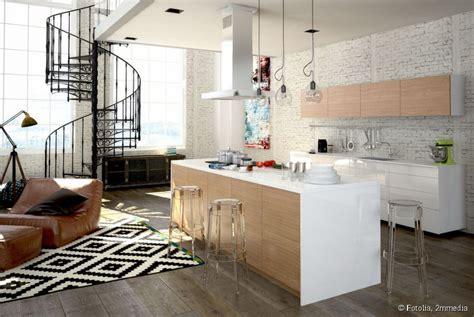 deco salon cuisine décoration cuisine salon exemples d 39 aménagements