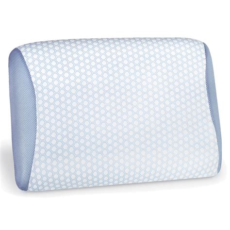 cooling gel pillow the best gel infused cooling pillow hammacher schlemmer