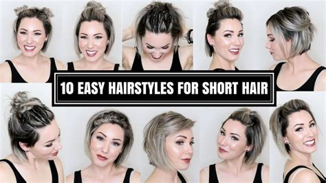Hairstyles For Hair by 10 Easy Hairstyles For Hair Brown
