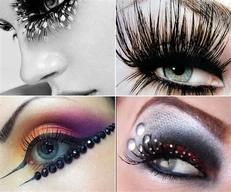 Party Eye Makeup With Eyelash Extensions Alldaychic