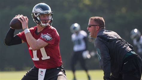 eagles news carson wentz named fantasy football sleeper