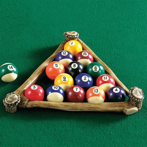how to rack pool balls antler pool rack
