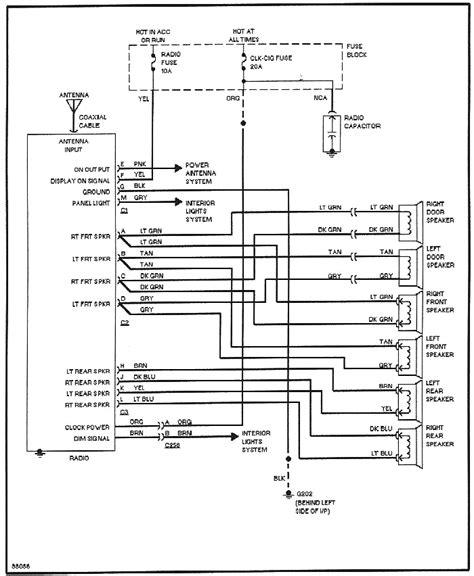 2011 buick regal radio wiring diagram 37 wiring diagram