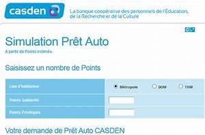 Pret Auto : simulation casden pr t immobilier points cr dit ~ Gottalentnigeria.com Avis de Voitures