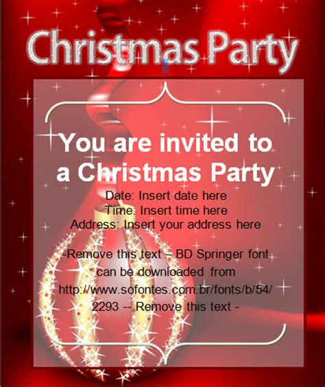 christmas party invitation card christmas cards ready