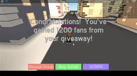 Roblox Fan Group Simulator  How To Play! Youtube