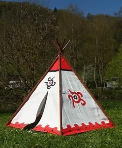 Zelt Der Indianer : tipi wigwam indianerzelt mit aluminium stangen 183 x 137cm ~ Watch28wear.com Haus und Dekorationen