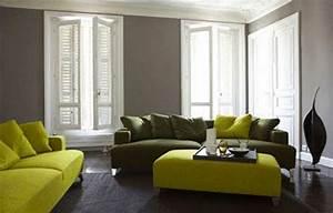 14 idees couleur taupe pour deco chambre et salon With tapis de sol avec canape cuir et tissus design