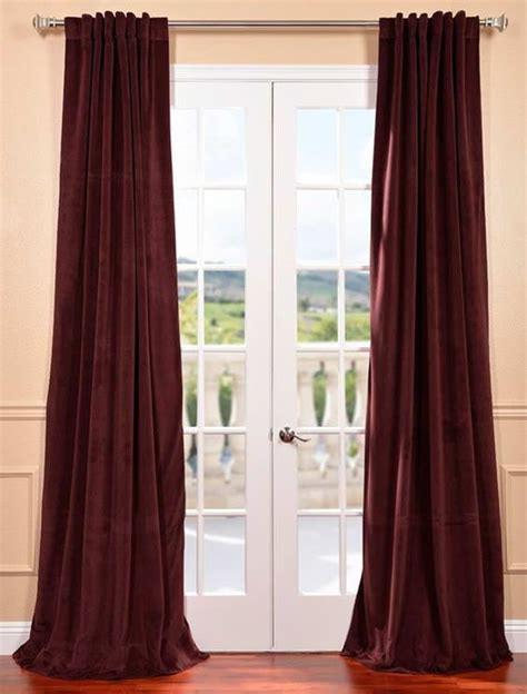 1000 ideas about burgundy curtains on