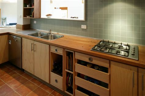 commercial bathroom design plywood kitchen with recycled timber bench top select