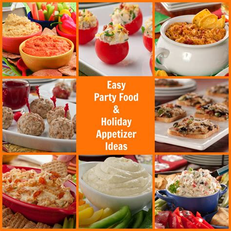 easy party food  holiday appetizer ideas mrfoodcom