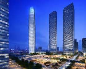 Tallest Building in China Wuhan
