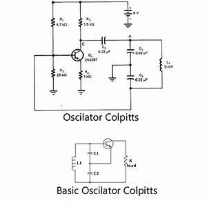 50hz Oscilator Circuit Diagram