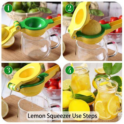 lemon juicer squeezer citrus manual hand orange tool metal quality stainless steel selling amazon fruit premium detailed press