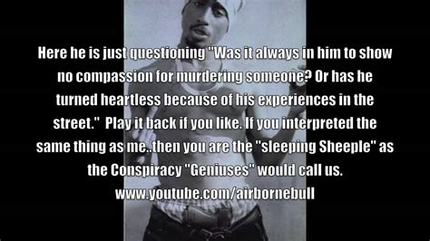 Illuminati Killed 2pac Tupac Talks The Illuminati Approaching Him For Deal