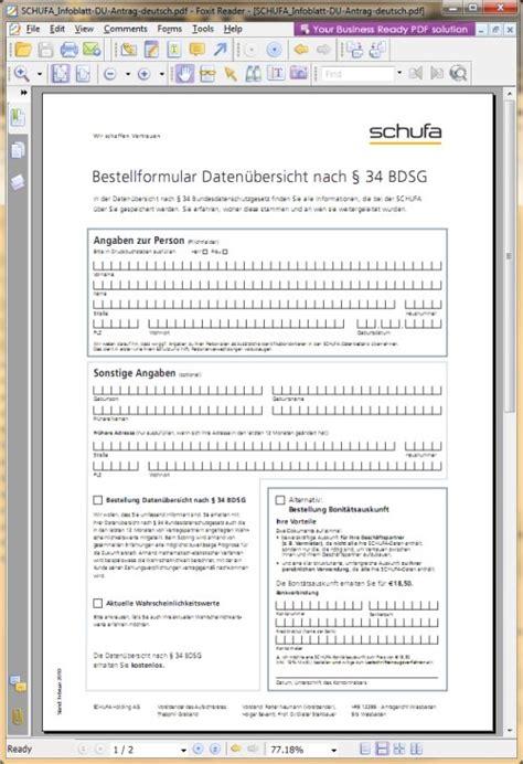 Schufa Auskunft Für Vermieter Kostenlos by Kostenlose Selbstauskunft Bei Der Schufa 176 176 176 Vision
