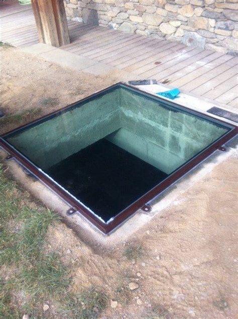 dalle de sol chambre sol verre puits lumiere accueil design et mobilier