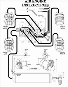 Air Bag Suspension Plumbing Diagram