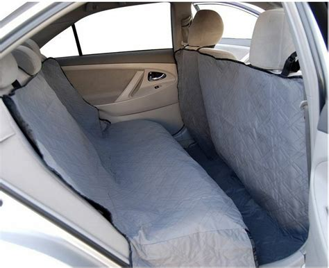 Back Seat Hammock For Dogs by Premium Heavy Duty Hammock Quilted Pet Car Sedan Suv