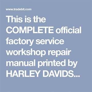 Harley Davidson Service Manual Servicar Servi