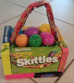 Easter Basket Made Out of Candy Boxes