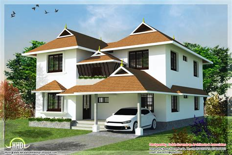 traditional home designs 4 bedroom traditional kerala home design