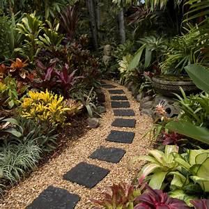 Englischen Garten Anlegen : steinweg im garten anlegen 20 inspirierende ideen ~ Whattoseeinmadrid.com Haus und Dekorationen