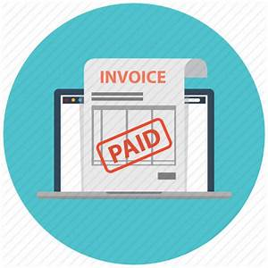 Check, electronic invoice, invoice, invoices, laptop, paid ...