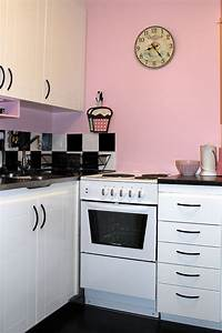 pink kitchen walls home design With kitchen colors with white cabinets with black white and red wall art