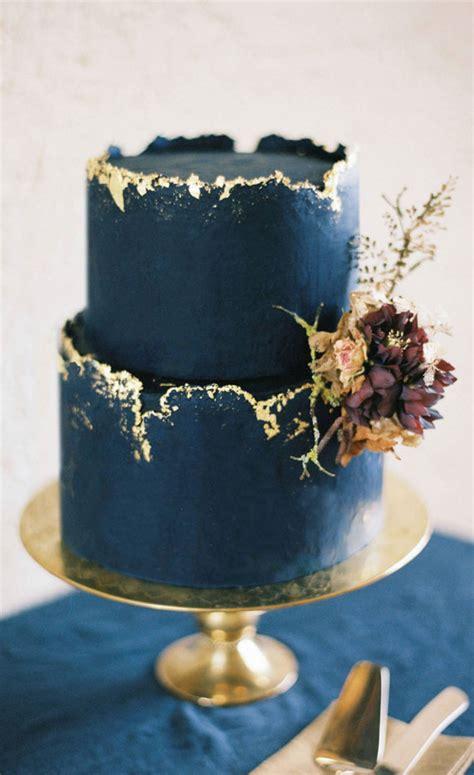 blue  gold wedding colour theme   elegant wedding