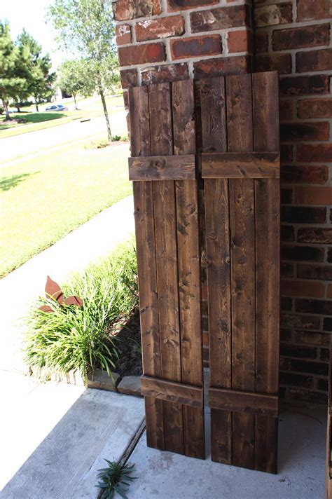 From My Front Porch To Yours Diy Rustic Shutters & New. Hammary Furniture. Small Bathroom Design. Ski Bedding. Lux Living. Mirrored Dining Room Table. Cedar Shake Vinyl Siding. Exterior Light. Wine Bar Cabinet
