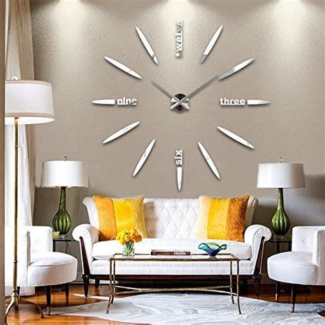 ideas  mirror wall clock  pinterest clocks