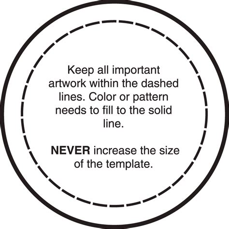 Html Button Templates by 96 25 Inch Circle Template 125 Inch Button Machine