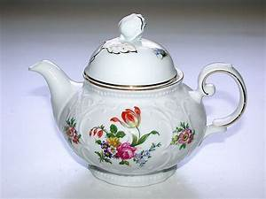 Seltmann Weiden Blaurand : classic w germany seltmann weiden bavaria a teapot ~ Watch28wear.com Haus und Dekorationen