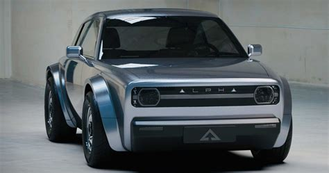 Retro-Styled EV Coupe Alpha Ace Announced   HotCars