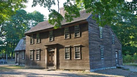 one cabin plans what is a saltbox house all about this colonial