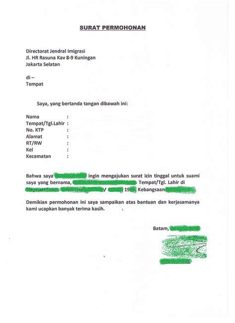 Surat Permohonan Sponsor by Sle Of On Line Apply Kitas Sponsor By Wni