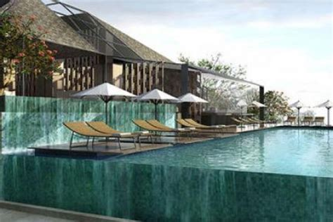 infinity pool hotel terbaik  bali bikin lupa waktu deh
