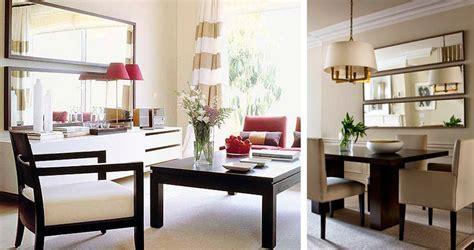 espejos  comedor beneficios  ideas bonitas decorar