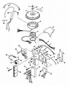 Ignition Components  Ser    U0026 39 S 0e066620 Thru 0e095087  For