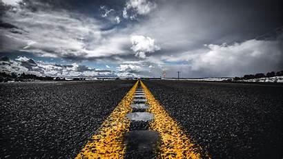 Road Horizon Asphalt 1080p Background Marking Fhd