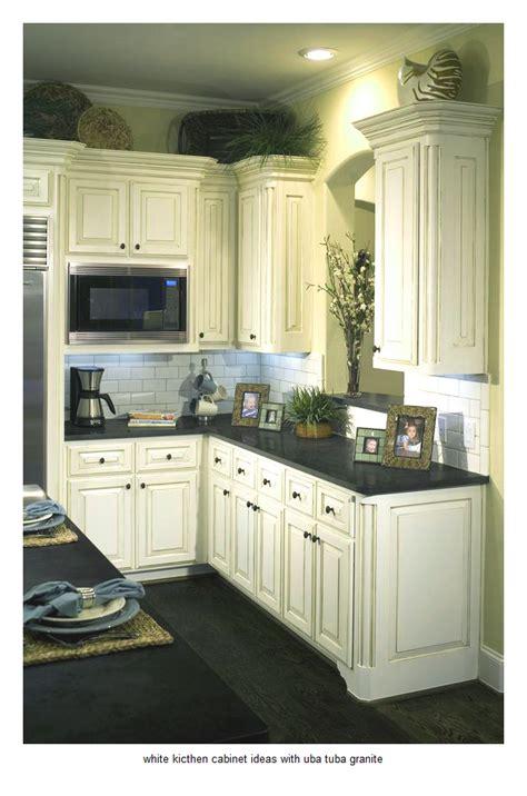 17 white kitchen cabinet ideas with uba tuba granite