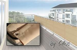 Balkonverkleidung Umrandung 75 X 500 Cm Farbe Sisal