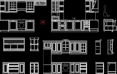 classic kitchen dwg section  autocad designs cad