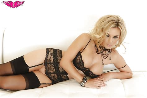 See And Save As Tanya Tate Classic Fashion Black Lace Lingerie Stockings Porn Pict