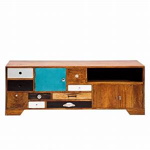 Lowboard Holz : tv lowboard malibu holz mango lackiert ~ Pilothousefishingboats.com Haus und Dekorationen